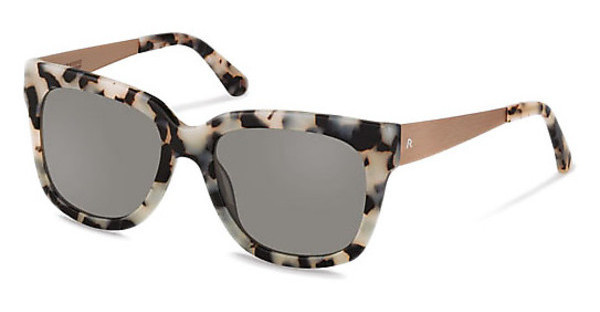 Claudia Schiffer C3010 C polarized - grey - 84%black white havana/ rosé gold