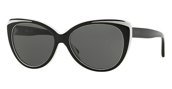 DKNY   DY4125 362787 GREYTOP BLACK ON WHITE