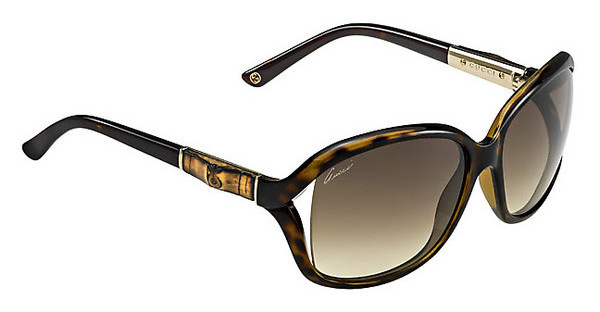 Gucci GG 3671/S 0KS/CC BROWN SFHVNA GOLD (BROWN SF)