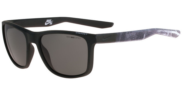 Nike UNREST EV0922 SE 002 MATTE BLACK/DEEP PEWTER WITH GREY LENS LENS