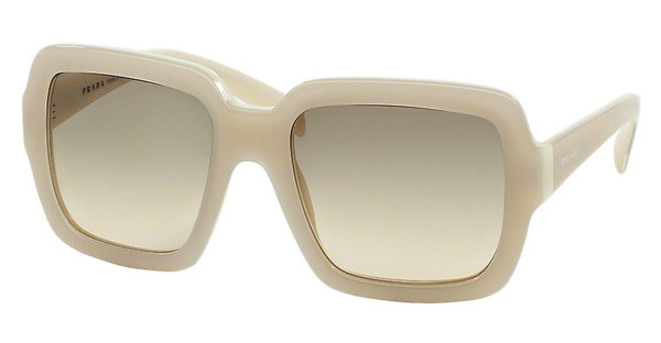 Prada PR 07RS TKO3H2 light brown grad light greenivory