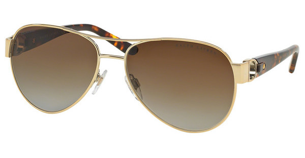 Ralph Lauren RL7047Q 9116T5 GRADIENT BROWN POLARSHINY PALE GOLD