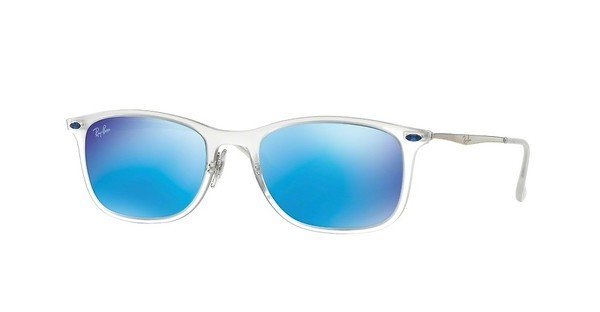 Ray-Ban RB4225 646/55 GREEN MIRROR BLUEMATTE TRANSPARENT