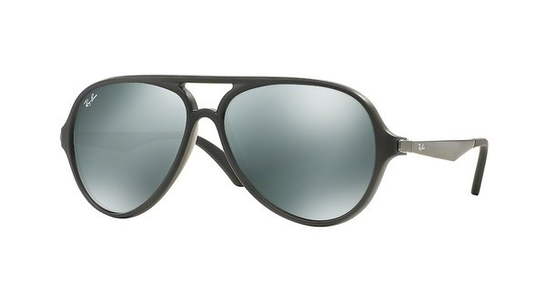 Ray-Ban RB4235 618740 GREEN MIRROR SILVERMATTE GREY