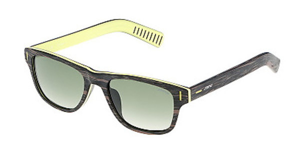 Sting SS6540 ANBX GREEN GRADIENT MIRROR GUNMARRONE SCURO STRIATO