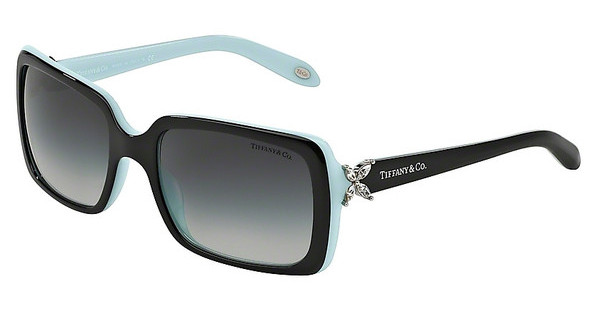 Tiffany TF4047B 80553C GRAY GRADIENTTOP BLACK ON AZURE