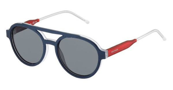 Tommy Hilfiger TH 1391/S QRE/DO GREYBLUE RED