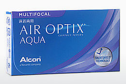 Lenti a contatto Alcon AIR OPTIX AQUA MULTIFOCAL (AIR OPTIX AQUA MULTIFOCAL AOM6H)