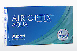 Lenti a contatto Alcon AIR OPTIX AQUA (AIR OPTIX AQUA AOA6)