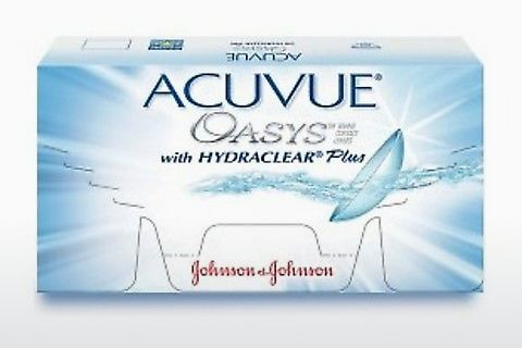 Lenti a contatto Johnson & Johnson ACUVUE OASYS with HYDRACLEAR Plus PH-12P-REV