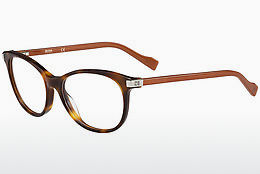 Occhiali design Boss Orange BO 0184 KBG - Marrone, Avana