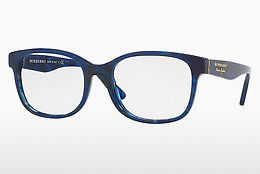 Occhiali design Burberry BE2263 3686 - Blu, Marrone, Avana