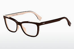 Occhiali design Fendi FF 0122 MG1 - Marrone