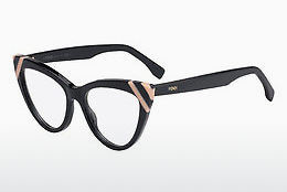 Occhiali design Fendi FF 0245 KB7 - Nero