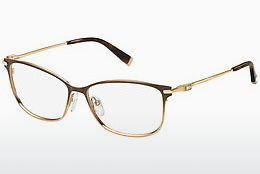 Occhiali design Max Mara MM 1251 MGK - Marrone, Oro