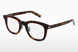 Occhiali design Saint Laurent SL 141/F SLIM 002 - Marrone, Avana