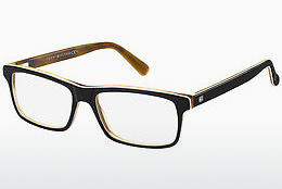 Occhiali design Tommy Hilfiger TH 1328 UNO - Nero, Marrone, Avana