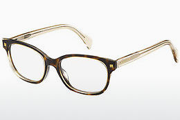 Occhiali design Tommy Hilfiger TH 1439 KY1 - Giallo, Marrone, Avana, Bianco