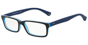 Emporio Armani EA3061 5392 TOP BLACK/MATTE BLUE