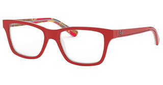 Ray-Ban Junior RY1536 3804 RED ON TEXTURE RED BROWN