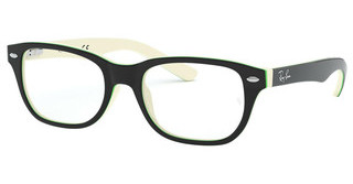 Ray-Ban Junior RY1555 3820 TOP BLACK ON WHITE/GREEN