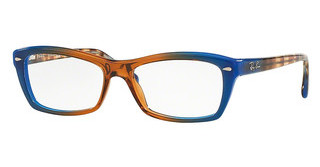 Ray-Ban RX5255 5488 GRADIENT BROWN ON BLUE