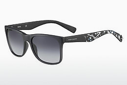 Occhiali da vista Boss Orange BO 0211/S GAX/HD - Grigio, Nero, Flowers