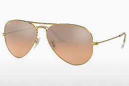 Occhiali da vista Ray-Ban AVIATOR LARGE METAL (RB3025 001/3E) - Oro