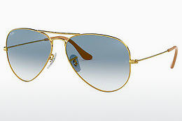 Occhiali da vista Ray-Ban AVIATOR LARGE METAL (RB3025 001/3F) - Oro