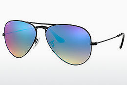 Occhiali da vista Ray-Ban AVIATOR LARGE METAL (RB3025 002/4O) - Nero