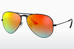 Occhiali da vista Ray-Ban AVIATOR LARGE METAL (RB3025 002/4W) - Nero
