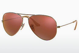 Occhiali da vista Ray-Ban AVIATOR LARGE METAL (RB3025 167/2K) - Marrone