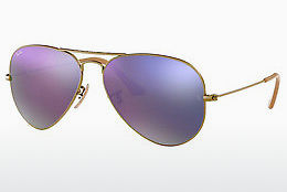 Occhiali da vista Ray-Ban AVIATOR LARGE METAL (RB3025 167/4K) - Marrone
