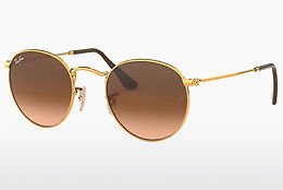 Occhiali da vista Ray-Ban ROUND METAL (RB3447 9001A5) - Marrone