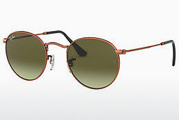 Occhiali da vista Ray-Ban ROUND METAL (RB3447 9002A6) - Marrone