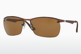 Occhiali da vista Ray-Ban RB3550 012/83 - Marrone