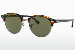 Occhiali da vista Ray-Ban Clubround (RB4246 1157) - Nero, Marrone, Avana