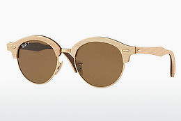 Occhiali da vista Ray-Ban Clubround Wood (RB4246M 117957) - Oro