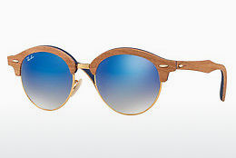 Occhiali da vista Ray-Ban Clubround Wood (RB4246M 11807Q) - Oro