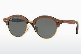Occhiali da vista Ray-Ban Clubround Wood (RB4246M 118158) - Oro