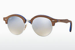 Occhiali da vista Ray-Ban Clubround Wood (RB4246M 12179U) - Argentato