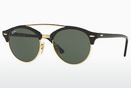Occhiali da vista Ray-Ban Clubround Double Bridge (RB4346 901) - Nero