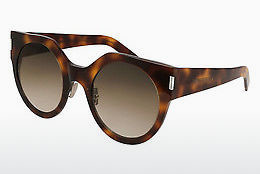 Occhiali da vista Saint Laurent SL 185 SLIM 002 - Marrone, Avana