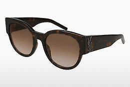 Occhiali da vista Saint Laurent SL M19 002 - Marrone, Avana
