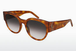 Occhiali da vista Saint Laurent SL M19 003 - Marrone, Avana