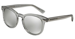 Dolce & Gabbana DG4254 29166G LIGHT GREY MIRROR SILVERTRANSPARENT GREY