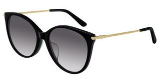 Occhiali da Sole Furla Donna avana marrone giallo lucido Lenti smoke gradient SFU148 0743 55 17 135