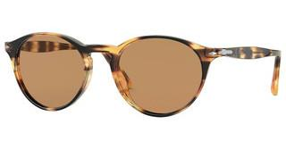 Persol PO3092SM 112353 BROWNSTRIPED HONEY