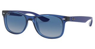 Ray-Ban Junior RJ9052S 70624L GREY GRADIENT DARK BLUETRANSPARENT BLUE