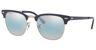 Ray-Ban RB3716 9160AJ BLUE BI-MIRROR GREYCOPPER ON TOP MATTE DARK BLUE